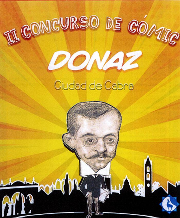II Concurso de cómic DONAZ Ciudad de Cabra