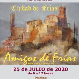 XXXIII Concurso nacional de pintura al aire libre Ciudad de Frías