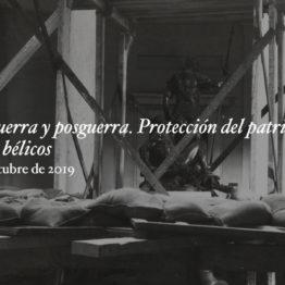 Envío de comunicaciones al Congreso Museo, guerra y posguerra. Protección del patrimonio en los conflictos bélicos en el Museo del Prado