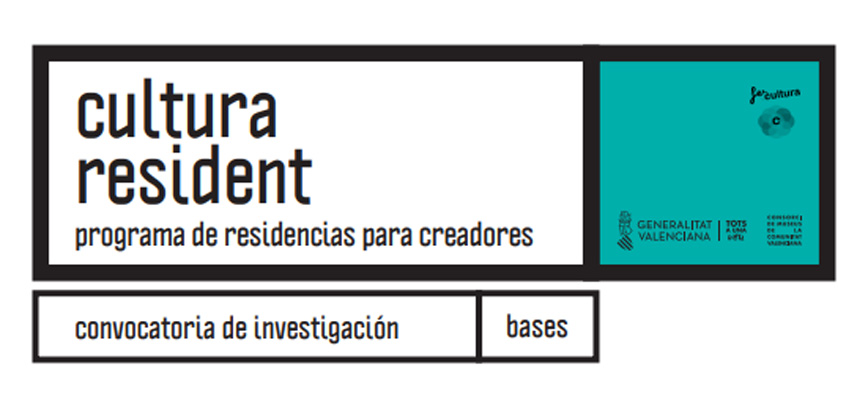 Cultura Resident. Programa de residencias para creadores: Investigación Castellón