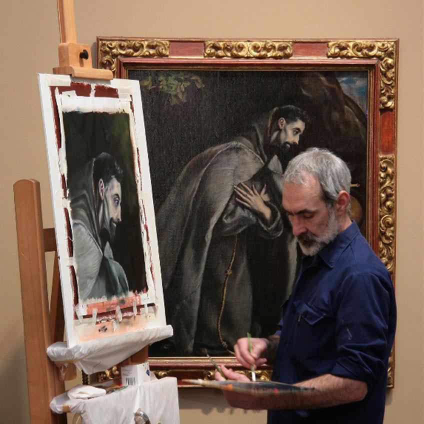 Incursiones a la copia esencial. Un abordaje práctico a la pintura desde la copia museística. Museo de Bellas Artes de Bilbao