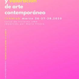 Curso de Mercado y valoración de arte contemporáneo en el IVAM