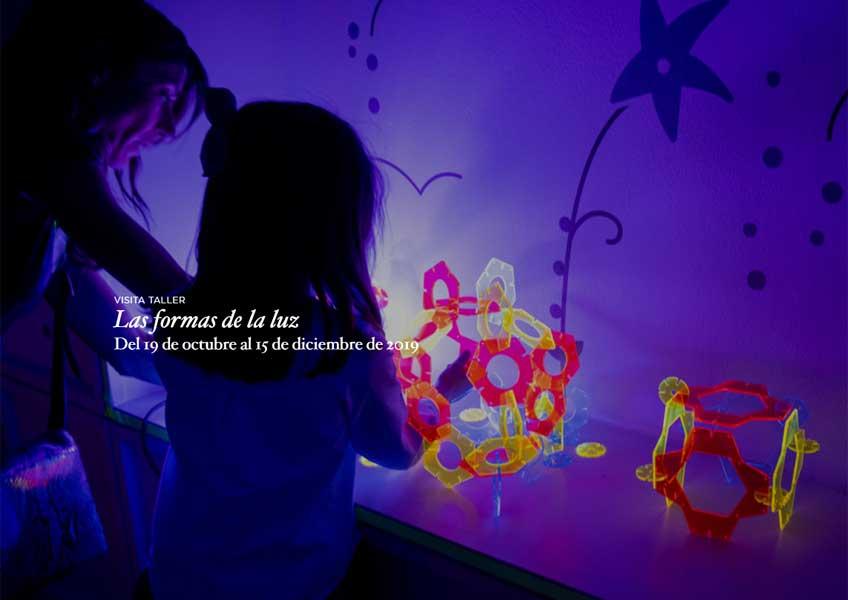 Las formas de la luz. Taller para público infantil en el Museo del Prado