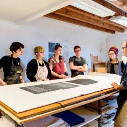 Apertura a artistas de los Talleres de Obra Gráfica de Joan Miró