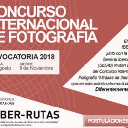 Miradas de Iberoamérica. Concurso internacional de fotografía convocado por la Secretaría General Iberoamericana