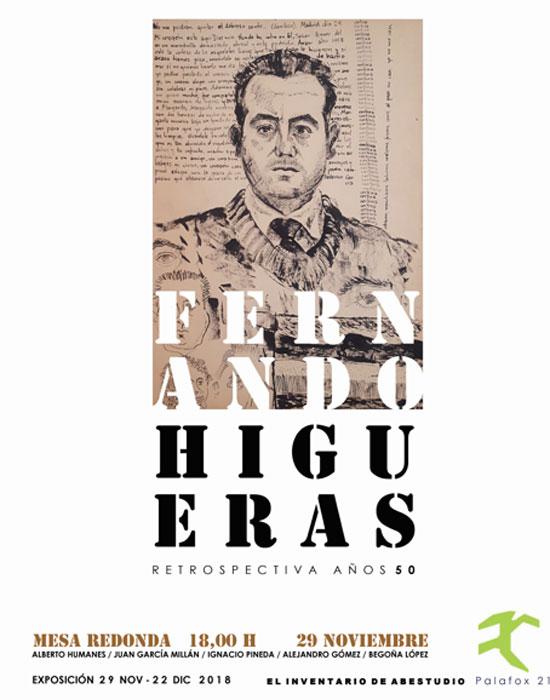 Mesa redonda en torno a la obra de Fernando Higueras en El Inventario de Abestudio