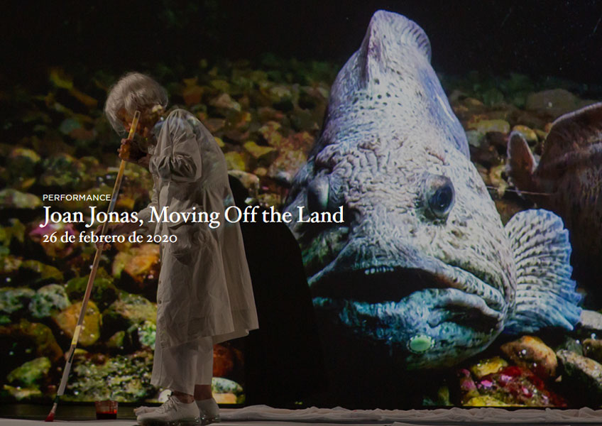 Joan Jonas, Moving Off the Land