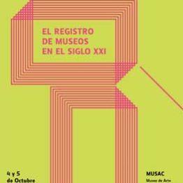 Jornadas de Museología de ICOM España. El registro de museos en el siglo XXI. MUSAC