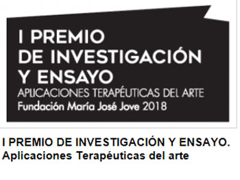 I Premio de investigación y ensayo. Aplicaciones terapéuticas del arte