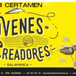 XVIII Certamen de Jóvenes Creadores convocado por el Ayuntamiento de Salamanca