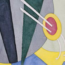John Marin Abstracción, 1917