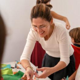 Niños por el arte: de la teoría a la práctica. Galería Lucía Mendoza