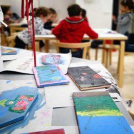 Esculpe, recorta, moldea. Escuela navideña de arte para niños en el Museo Picasso de Málaga