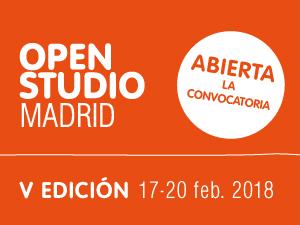Abierta la convocatoria para participar en Open Studio 2018