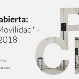 Programa PICE. Ayudas a la movilidad. Septiembre 2018