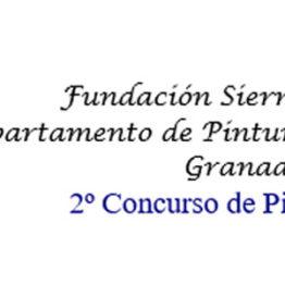 II Concurso de Pintura Fundación Sierra Elvira
