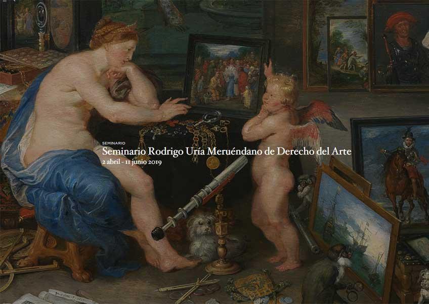 Seminario Rodrigo Uría Meruéndano de Derecho del Arte 2019. Museo del Prado
