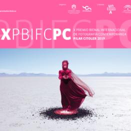 X Premio Bienal Internacional de Fotografía Contempòránea Pilar Citoler 2019