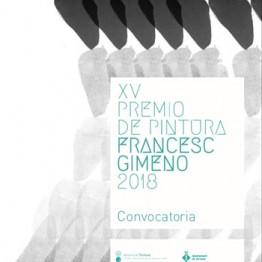 XV Premi de Pintura Francesc Gimeno 2018
