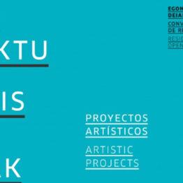 Convocatoria de residencia para el desarrollo de proyectos artísticos 2021. Tabakalera