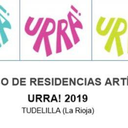 Programa de residencias artísticas URRA! 2019