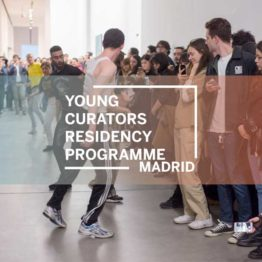 Coordinador del Young Curators Residency Programme Madrid. Fondazione Sandretto Re Rebaudengo