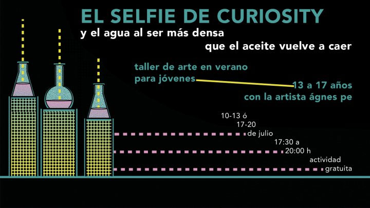 El selfie de curiosity. Taller de arte en verano para jóvenes en Tabacalera