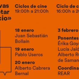Ciclos de cine y conferencias en torno a Tentativas para agotar un espacio. En Tabacalera, desde el 18 de enero de 2018