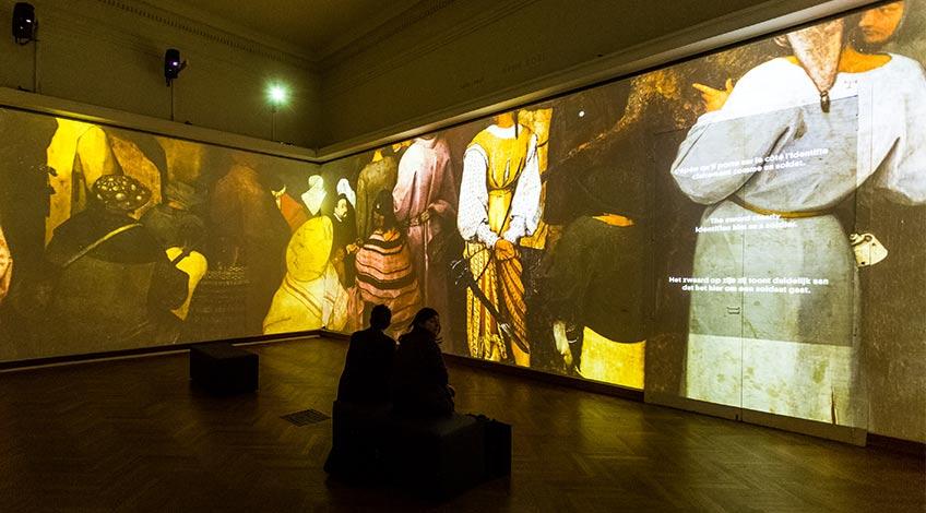 Bruegel Box. Museos Reales de Bellas Artes de Bruselas. Foto Olivier-Anbergen