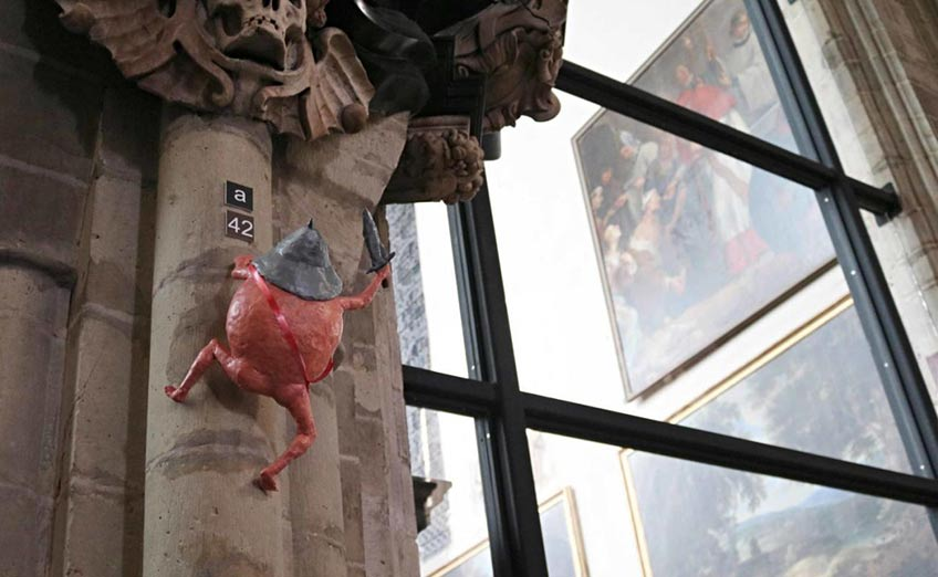 Pieter Bruegel. La gran evasión. Pieter Bruegel. Nuestra Señora de la Capilla de Bruselas