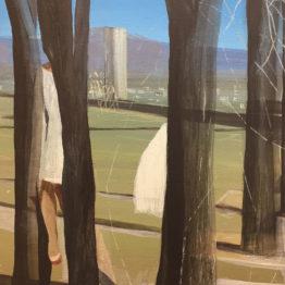 Obra de Marc Desgrandchamps en Pilar Serra