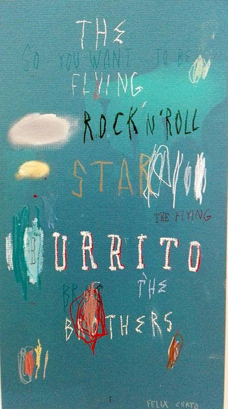 Estampa 2017. Félix Curto en Galería Adora Calvo. Burrito, 37x51'5 cm