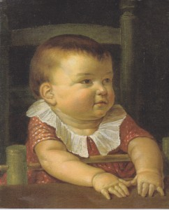 Philipp Otto Runge. Retrato de su hijo