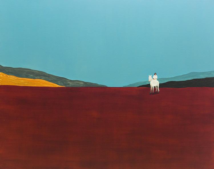 Guim Tió Zarraluki. Cavall Blanc, 2017. Art Madrid 2017