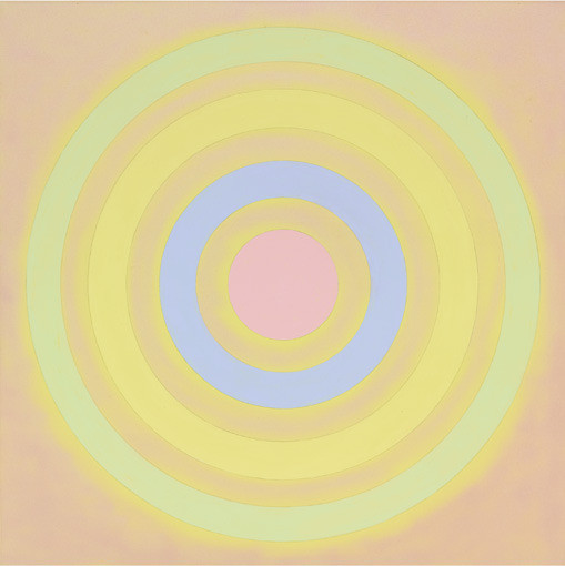 Kenneth Noland. Mysteries: Toward East Light
