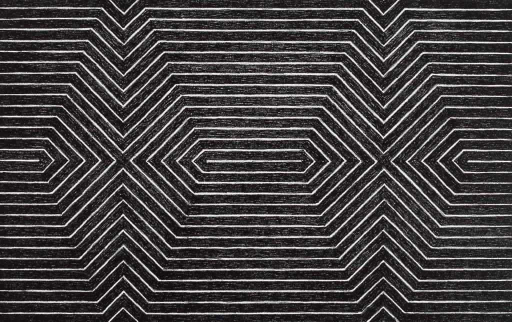 Frank Stella. Sin título, 1967