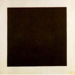 Malévich. Cuadrado negro, 1913.