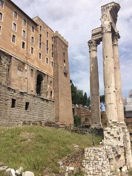 Restos del Tabularium romano, 78 a.C.