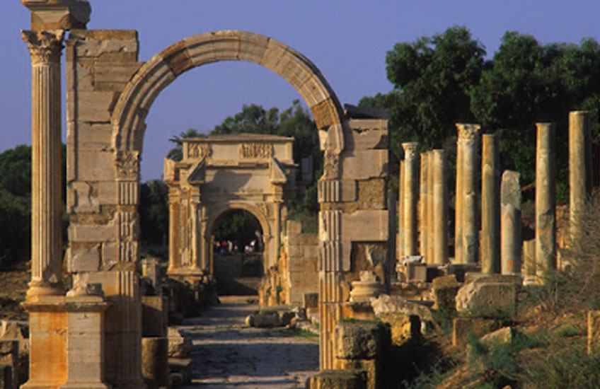 Foro de Leptis Magna, Trípoli