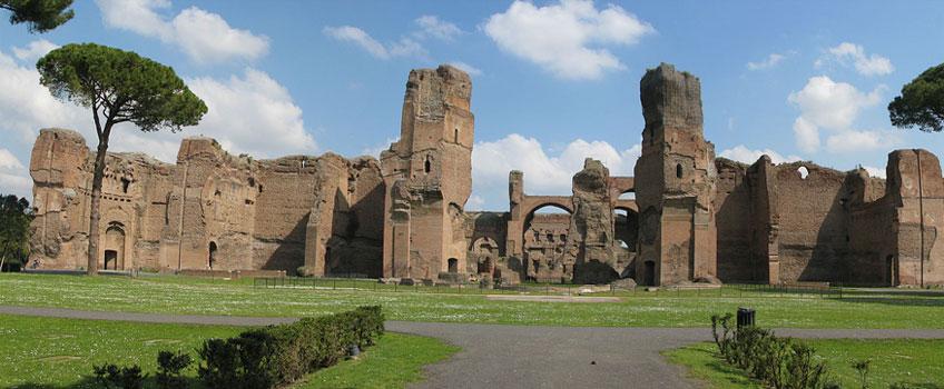 Termas de Caracalla, Roma, 212-217 d.C.