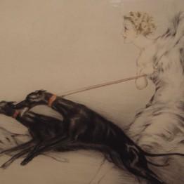 Louis Icart. Speed, 1927