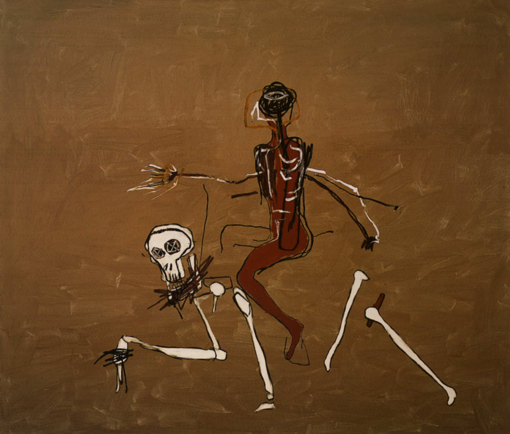 Basquiat. Riding with Death, 1988