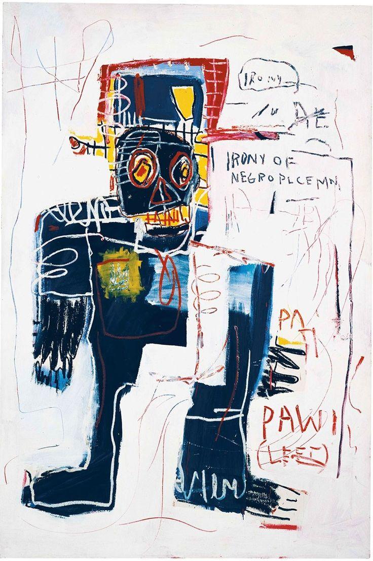 Basquiat. La ironía de un policia negro, 1981