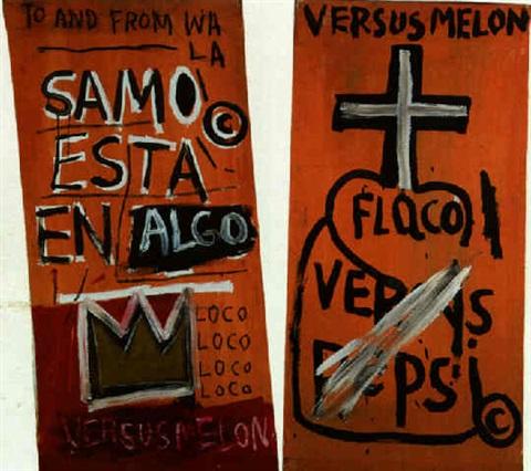 Basquiat. Samo está en algo, 1980