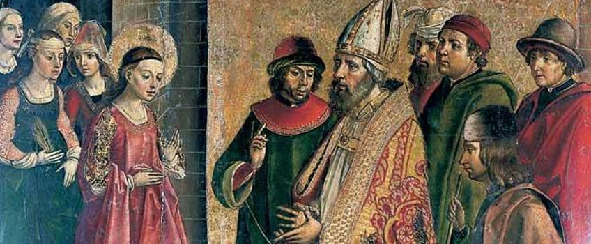 Pedro Berruguete. Los pretendientes de la Virgen, hacia 1495