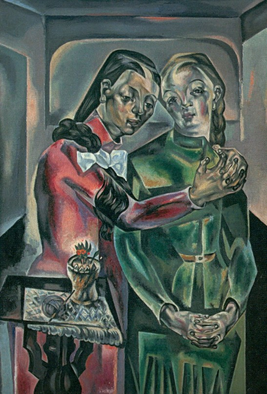 María Blanchard. Las dos hermanas