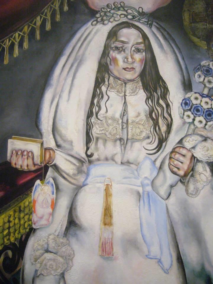 María Blanchard. La comulgante, 1914-1920