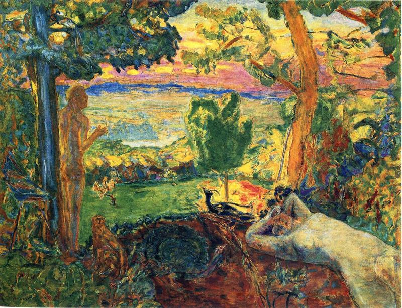 Pierre Bonnard. Le paradis terrestre, 1916-1920
