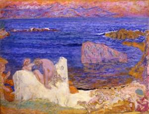 Pierre Bonnard. L´enlèvement d´ Europe, 1919