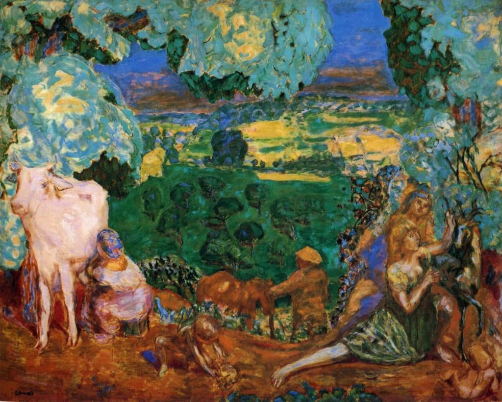 Pierre Bonnard. La Pastorale, 1937